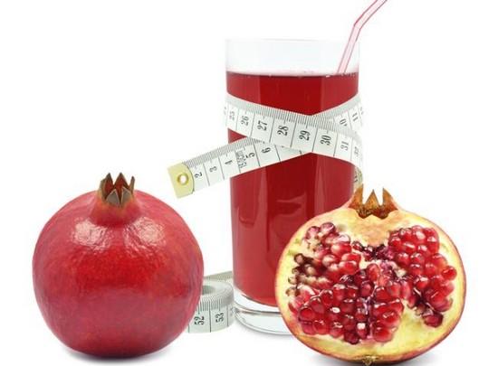 Гранатовый сок во время диеты