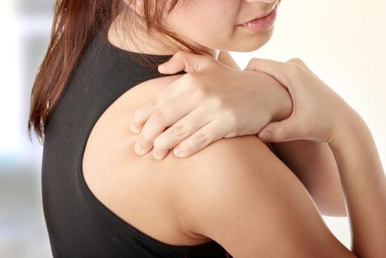 Отложение солей в плечевом суставе