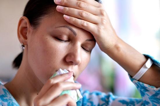 вазомоторный ринит, симптомы и лечение