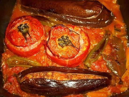 Гарнир из овощей с изюминкой