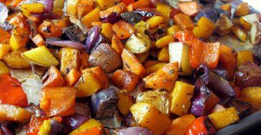 Как приготовить овощи в духовке
