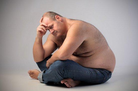 Абдоминальное ожирение у мужчин: причины, лечение
