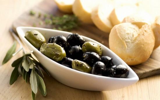 калорийность маслин и оливок
