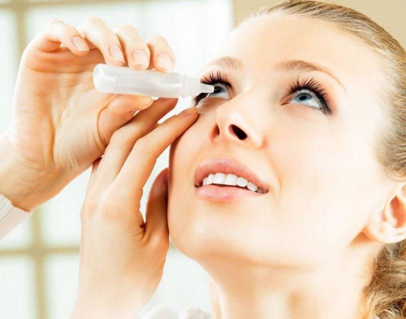 Капли от слезоточивости глаз (для пожилых)