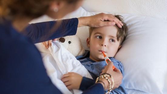 Сильный озноб и температура у ребенка