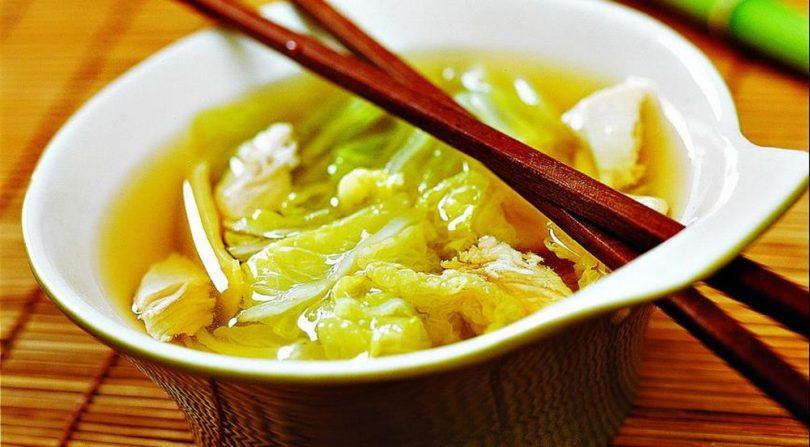 Суп из пекинской капусты с курицей: рецепты с фото