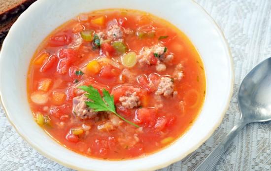 суп с фрикадельками в мультиварке «Поларис»