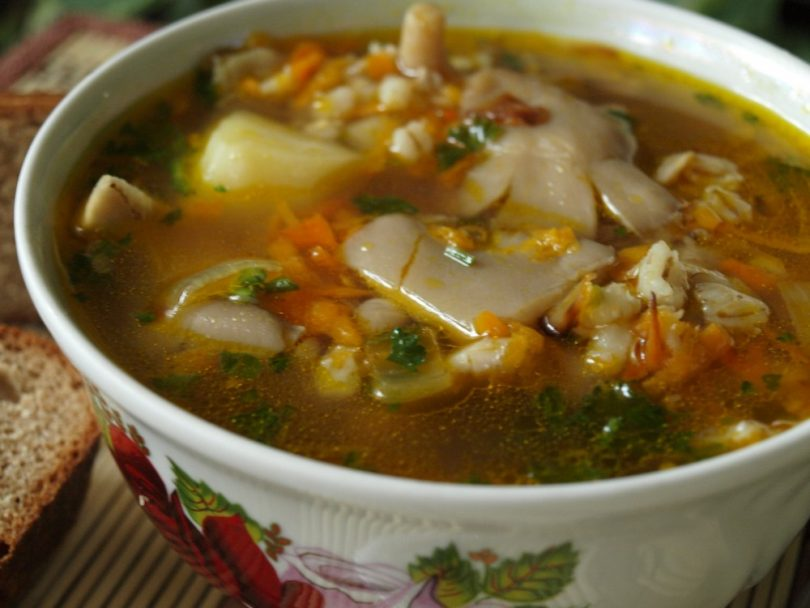 Суп с вешенками: рецепты с фото