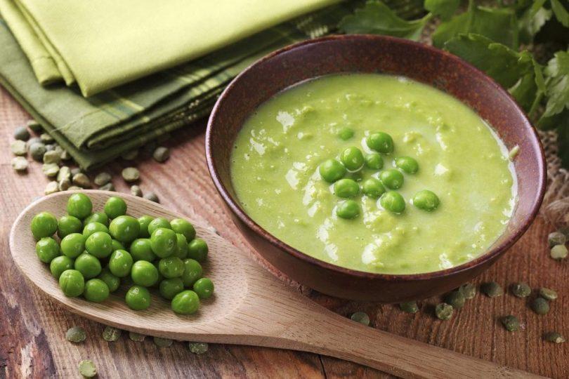 Суп с зеленым горошком (консервированным, молодым): рецепты