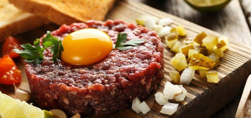 Тартар из говядины: рецепт в домашних условиях, калорийность