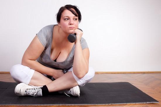 висцеральный жир появился в результате банального переедания