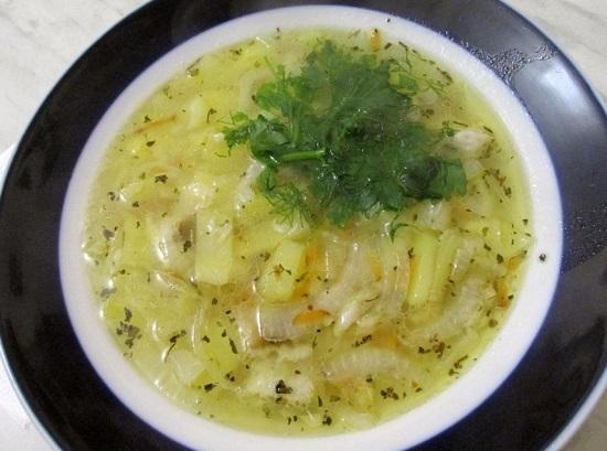 Рыбный суп из минтая: рецепт простой