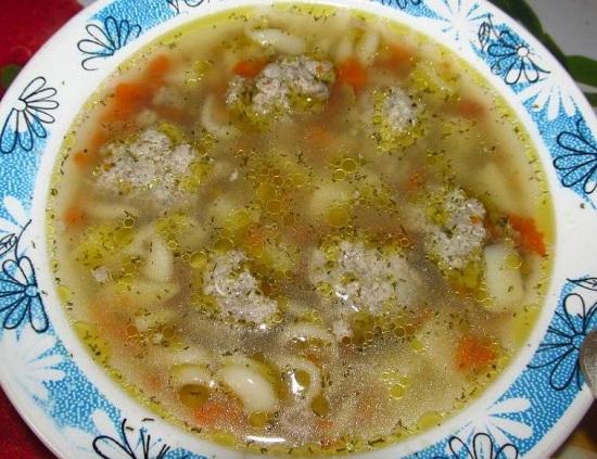 Суп с фрикадельками: пошаговый рецепт в мультиварке