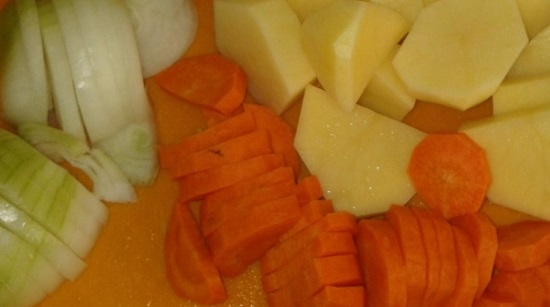 Почистим все овощи