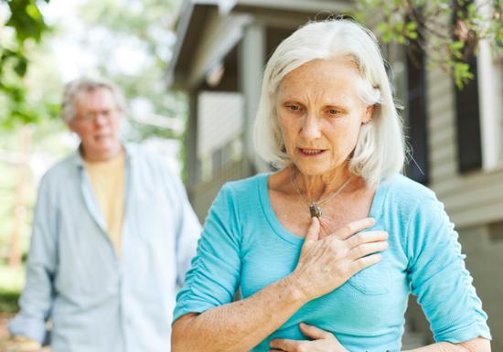 Первые признаки инфаркта у женщины, мужчины