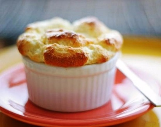 Сырное суфле: рецепт с фото