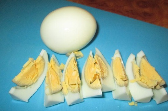 яйца нарежем